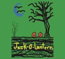 halloween jack o lantern Tia Knight Baby Tee
