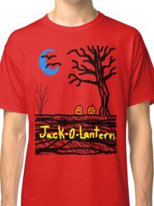 halloween jack o lantern Tia Knight Classic T-Shirt