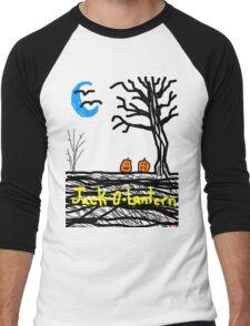 halloween jack o lantern Tia Knight Men's Baseball ¾ T-Shirt
