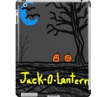 halloween jack o lantern Tia Knight iPad Case/Skin