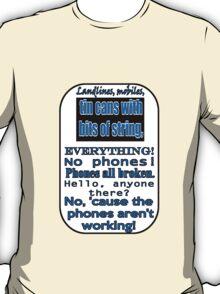 Ianto Jones Phone Quote T-Shirt