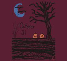 Halloween jack o lantern October 31 Tia Knight by Tia Knight