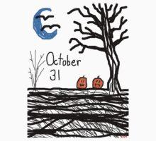 Halloween jack o lantern October 31 Tia Knight Kids Clothes