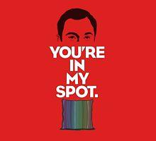 The Big Bang Theory My Spot Unisex T-Shirt
