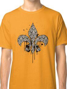 Damask Drips Classic T-Shirt