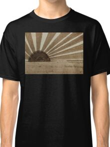Sepia Sunset original painting Classic T-Shirt