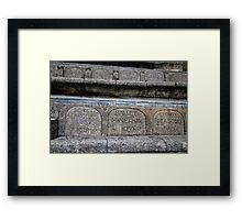 Seating At The Minack Framed Print