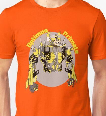 Optimus Primate with Name Unisex T-Shirt