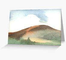 Spring Mountain Greeting Card