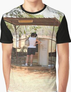 Drysdale River Station, telephone booth/retired refrigerator Graphic T-Shirt