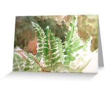 Fern Hands Greeting Card