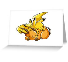 Pika-Pile Greeting Card