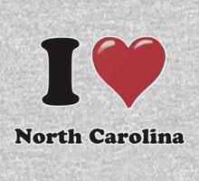 I Heart / Love North Carolina  by HighDesign