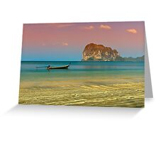 Pak Meng Beach Greeting Card