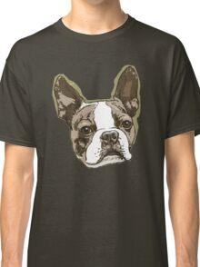 Boston Terrier Head Classic T-Shirt