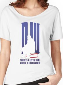 There is a little girl waiting... Women's Relaxed Fit T-Shirt