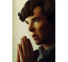 Sherlock - Think Photographic Print