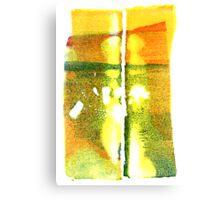 Sunset Lake Champlain Summer Fall 2012 5c Canvas Print
