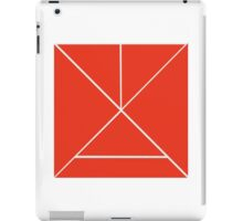 Hour Glass - Red iPad Case/Skin