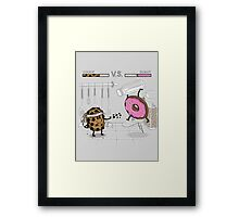 Duelicious Framed Print