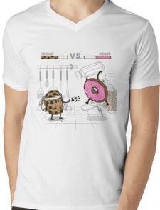 Duelicious Mens V-Neck T-Shirt