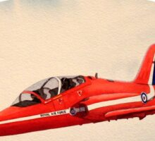 Bae Hawk T1a- The Red Arrows Sticker