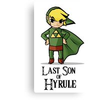 The Last Son of Hyrule Canvas Print