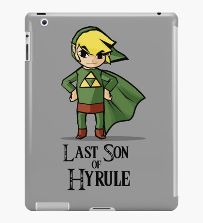 The Last Son of Hyrule iPad Case/Skin