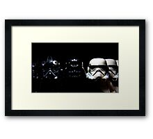 By Air, By Land Or A Hidden Force Framed Print