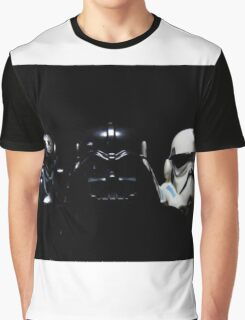 By Air, By Land Or A Hidden Force Graphic T-Shirt