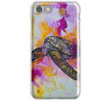 india ink magenta  iPhone Case/Skin