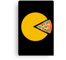 Pizza-man Canvas Print