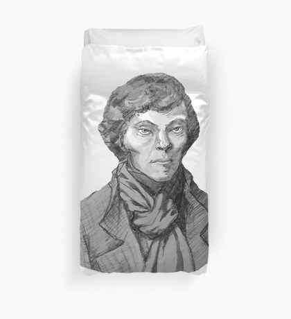 Benedict Cumberbatch Sherlock Holmes (Specially Detailed) Duvet Cover