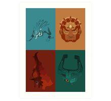 Twilight Legends  Art Print