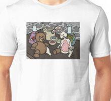 Teddy Bear And Bunny - Lab Experiments Unisex T-Shirt