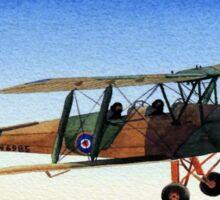 Tiger Moth Aircraft Sticker