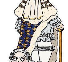 headless king louis XVI by lesincroyables