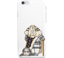 headless king louis XVI iPhone Case/Skin