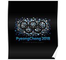 PyeongChang 2018 Olympic Winter Games Poster