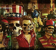 Elvis-skulls by djohn