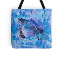 india ink purple  Tote Bag