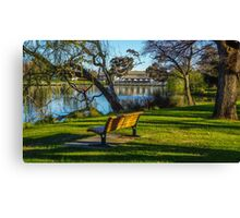 Peace and Serenity by Lake Weeroona - Bendigo, Victoria Canvas Print