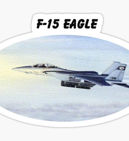 F-15 Eagle Aircraft Sticker
