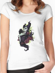 Maleficent Women's Fitted Scoop T-Shirt