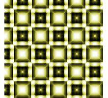 Yellow Squared Photographic Print