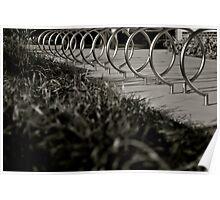 Bike Rack 1.0:  Grassy View Poster