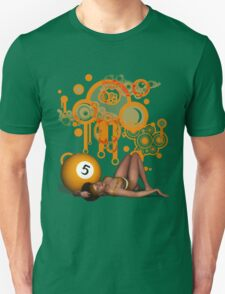 Poolgames 2015 - The No. 5 Unisex T-Shirt