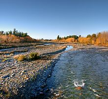 Rangitata River by Christine Smith