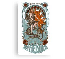 BikeBike Nouveau Canvas Print