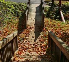 Downward Autumn Sticker